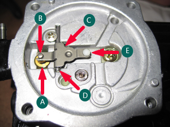 carburetor needle and seat assembly